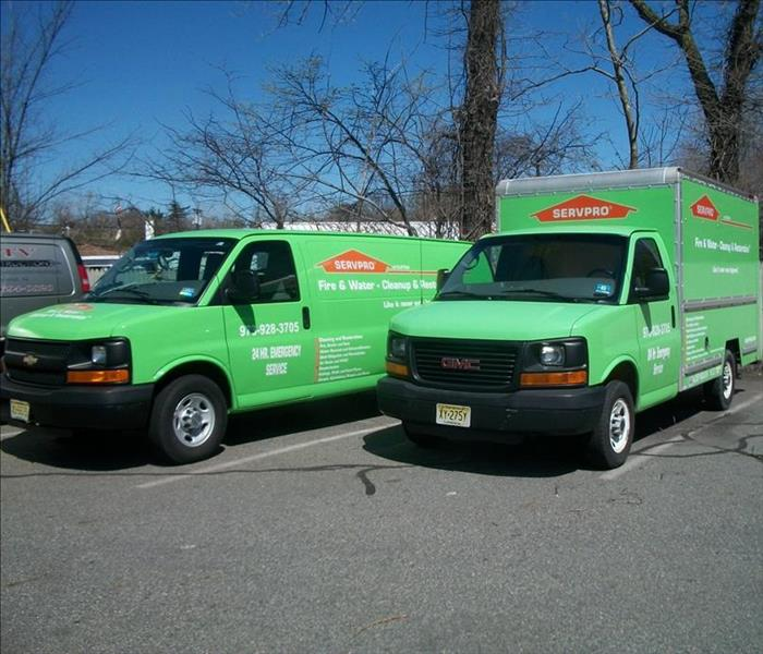 SERVPRO of Clifton Vehicles