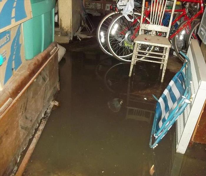 Sewer Backup of Basement in Montclair
