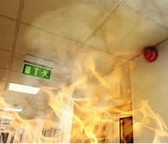 Commercial Fire Damage Restoration to Your Business