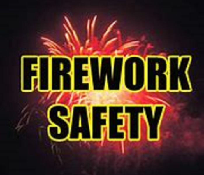 Fire Damage Fourth of July Fireworks Safety
