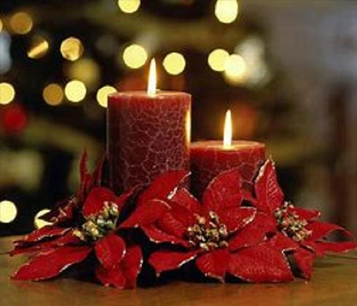 Fire Damage Candle Safety During the Holidays and Throughout the Year