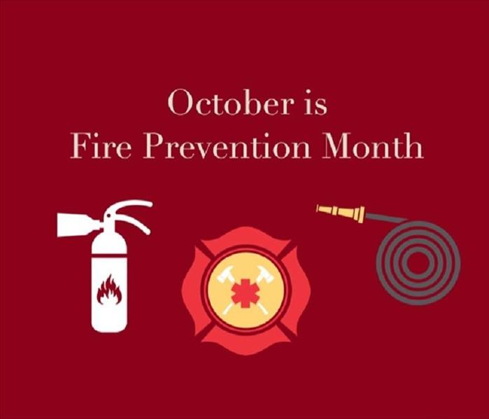 Fire Damage October is National Fire Prevention Month - Prepare an Prevent Home Fires